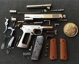 1:3 1911 pistol model. White copper production. Redwood handles. Super cool model
